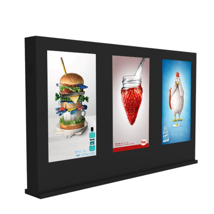 Out of home LCD video wall network digital signage display with OEM multi scree